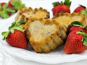 Strawberry Yogurt Muffins Valentine's
