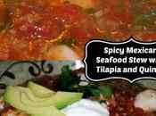 Spicy Mexican Seafood Stew with Tilapia Quinoa