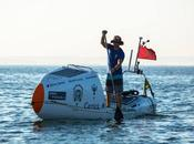 South African Adventurer Crossing Atlantic Board