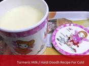 Make Turmeric Milk Cold Kids, Haldi Doodh Recipe Toddlers