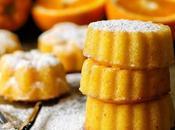 Semolina, Coconut Marmalade Cakes