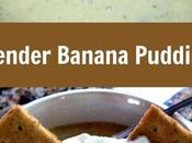 Slender Sweet Banana Pudding Dessert