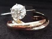 Mochiko42 Trinity Cartier Ring