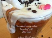 Chocolate Banana Coffee Smoothie with Chia Recipe