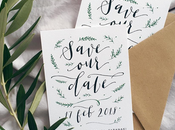Save Date Cards with Paper Rose Stationery