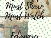 Must Shop, Share Watch This February