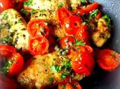 Chicken with Tomatoes Capers