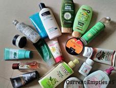 Current Empties#5...Skin, Hair, Body Wellness