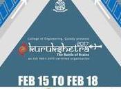 CEG, Anna University Techno-Management Fest Kurukshetra 2017
