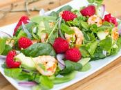 Prawn Raspberry Spring Salad!