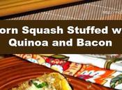 Acorn Squash Stuffed with Quinoa Bacon