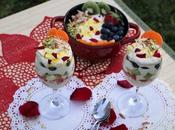 Sugarfree Low-fat Shrikhand Parfaits Indian Spiced Fusion Dessert