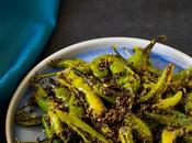 Green Chili Fry, Chukki Hari Mirch