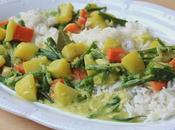 Indian Stew with Yukon Gold Potatoes, Vidalia Onion Spring Vegetables