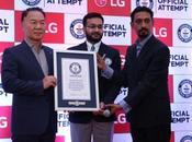Witnessing #KarSalaam Guinness World Record