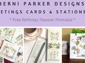 Greeting Cards Review from Berni Parker Designs Plus Free Birthday Planner Download