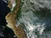 Signals Climate Change Visible Record Fires Give Massive Floods Peru
