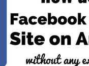 Facebook Desktop Site Android/ iPhone