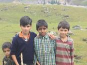 DAILY PHOTO: Wheel-on-a-Stick Kids, Kashmir