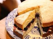 Recipe: Victoria Sponge with Blackberries Spiced Cream from Hairy Bikers