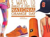 Five Ways Sweat National Orange