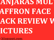 Banjara's Multani Saffron Face Pack Review
