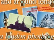 Around #London… Painted, Embroidered Tiled