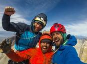 Belgian Team Free Climbs Central Tower Torres Paine