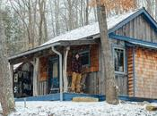 "Tour ""MoonShine,"" Tiny House Cabin Blue Moon Rising Campground"