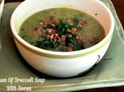 Slender Cream Broccoli Soup with Bacon