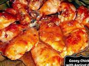 Chicken Drummettes with Gooey Apricot Glaze