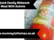 Quick Family Midweek Meal With Dolmio