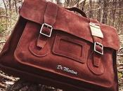 Traveling Style: Taking Look Martens Suede Satchel