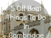 Off-Beat Things Cambridge