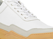Color-Blocked, Color-Rocked: Filling Pieces Sole Series Leather Low-Top Sneakers