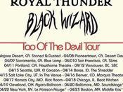 BLACK WIZARD: Tour With Brant Bjork Royal Thunder Underway