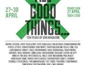 Magazine 'ALL GOOD THINGS' 10-Year Anniversary Exhibition