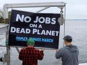 "Ocean Farmers Make ""Climate March Sea"""