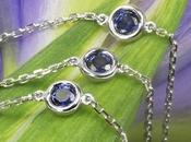 Smith1940's Whiteflash Sapphires Yard Custom Necklace