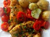 Chicken with Cherry Tomatoes Capers