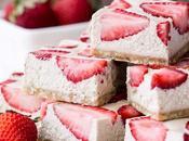 No-Bake Strawberry Shortcake Bars