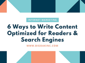 Ways Write Content Optimized Readers Search Engines