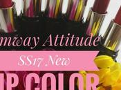 Amway Attitude SS17 Intense Color Swatches First Impression