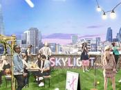 Play Croquet Enjoy Rooftop Drink Tobacco Dock Skylight from 25th