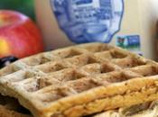 Cinnamon Apple Sour Dough Waffles #brunchweek