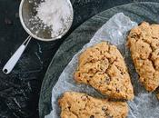 Whole Grain Dark Chocolate Cardamom Scones with Hint Coffee