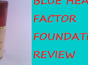 Blue Heaven Factor Foundation Review