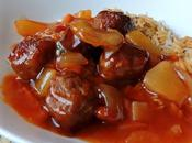 Pineapple Sweet Sour Meatballs