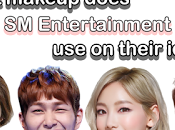 What Makeup Does Entertainment Their Idols?