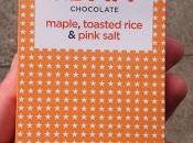 Doisy Maple, Toasted Rice Pink Salt Dark Chocolate